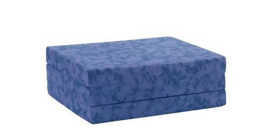 Skládací Matrace Billy - modrá, textilie (80/190cm)