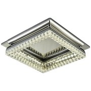 LED-Deckenleuchte Delinda - ROMANTIK / LANDHAUS, Kunststoff/Metall (35/10,5cm) - James Wood