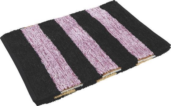 Vorleger Danila 60x90 cm - Beige/Lila, KONVENTIONELL, Textil (60/90cm) - Homezone