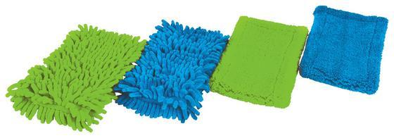 Felmosó Rongy Mikroszálas - kék/zöld, konvencionális, textil (44/13cm)