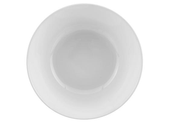 Tál Olivia - Fehér, konvencionális, Üveg (16/5,2cm)