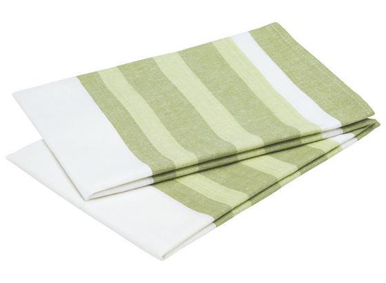Sada Utierok Na Riad Streif -ext- -top- - zelená/tyrkysová, textil (50/70cm) - Mömax modern living