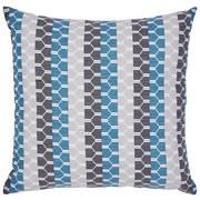 Zierkissen Flavia - Petrol, ROMANTIK / LANDHAUS, Textil (40/40cm) - James Wood