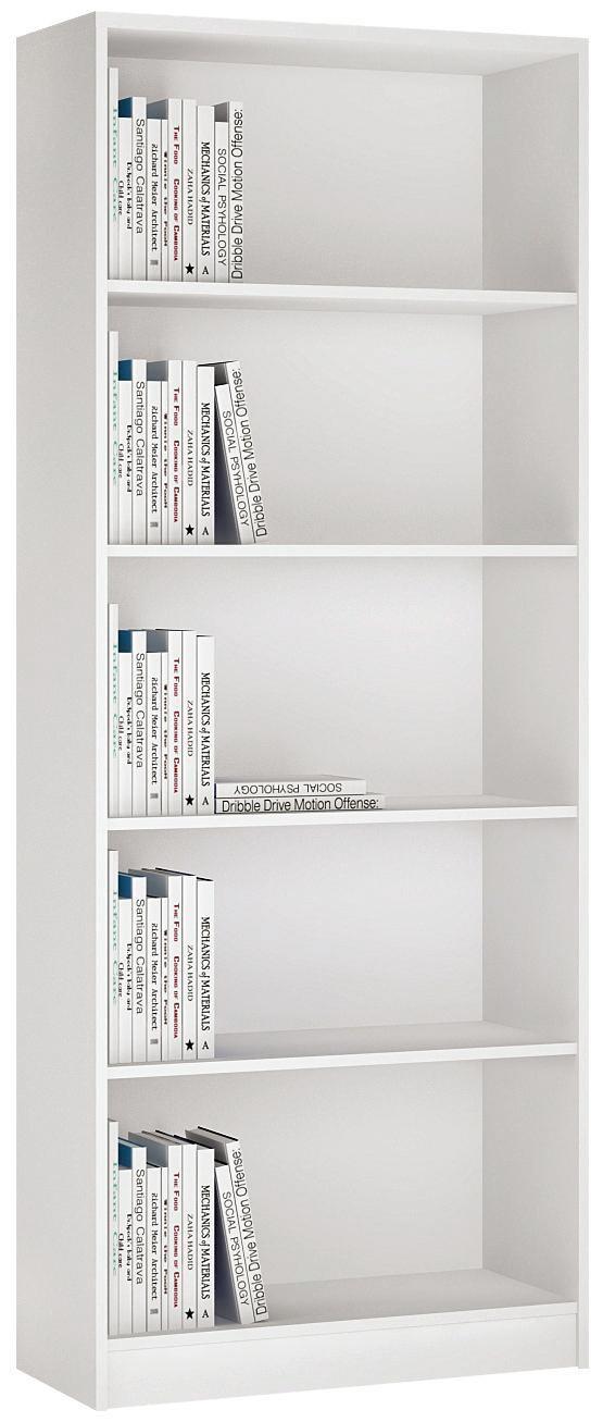 Regal 4-You YUR03 - Weiß, MODERN, Holz (74/189,5/35,2cm)