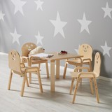 Detský Stôl Sunny - farby brezy, Moderný, drevo (60/45/60cm) - MÖMAX modern living