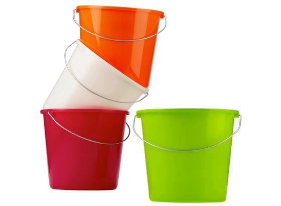 Vedro Rosi -top- - oranžová/pink, kov/plast (10l) - Mömax modern living