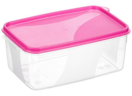 Frissentartó Doboz 1,3 Liter - Átlátszó, konvencionális, Műanyag (12/8,5/18cm)