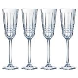 Sektglas 4er Pack / 17cl - Transparent, Basics, Glas (170ml) - Mäser