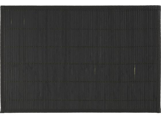 Prostírání Asia - černá, dřevo (30/45cm) - Mömax modern living