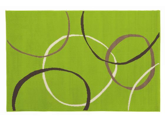 Vorleger Lime 60x110 cm - Grün, KONVENTIONELL, Textil (60/110cm) - Ombra