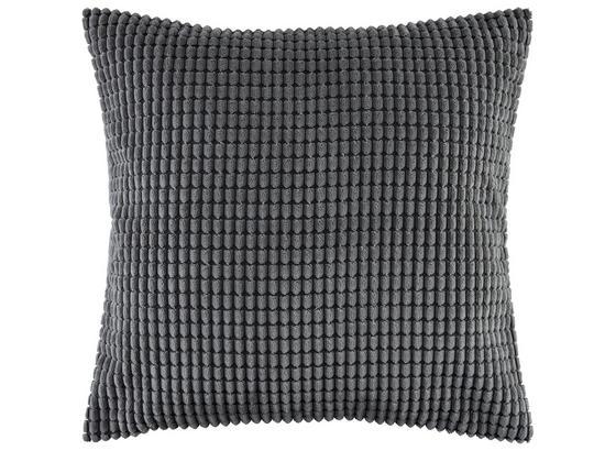 Zierkissen Halina - Anthrazit, MODERN, Textil (45/45cm) - Luca Bessoni