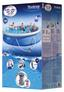 Aufstellpool Set Fast 57313 Ø 457 X H 84 cm - Blau/Weiß, Kunststoff (457/84cm) - Bestway