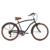 Citybike Beachcruiser 26'' Cruizer - Grau, Basics, Metall