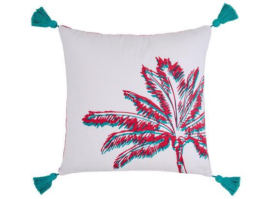 Dekorační Polštář Diamond Palm - bílá, Lifestyle, textil (45/45cm) - Mömax modern living