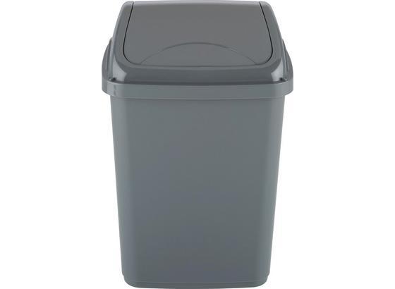 Koš Odpadkový Xaver - šedá, umělá hmota (10l) - Mömax modern living