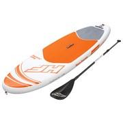 Bestway Stand-Up Paddle Board Aqua Journey - Orange/Weiß, MODERN, Kunststoff (274/76/12cm) - BESTWAY