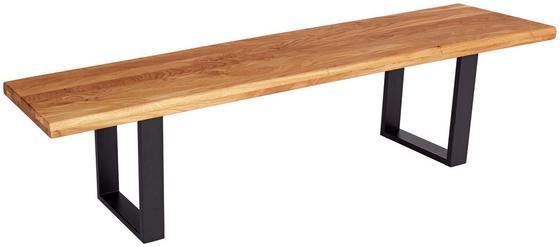 Sitzbank Tibet B200 - Eichefarben, MODERN, Holz (200/44/40cm)