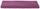 Gästetuch Liliane - Flieder, KONVENTIONELL, Textil (30/50cm) - Ombra