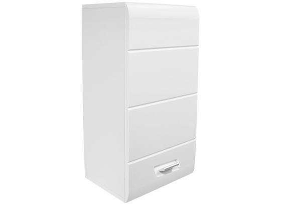 Závesná Skrinka Snow - biela, Moderný, kompozitné drevo (40/70/22,6cm)