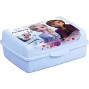 Jausenbox Olek Frozen Deco-clickbox Midi - Hellblau, KONVENTIONELL, Kunststoff (17/13/7cm)