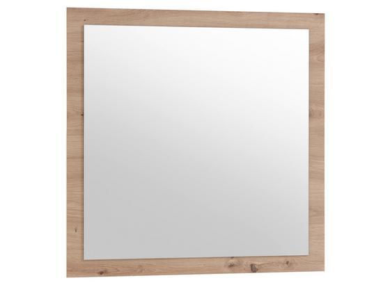 Spiegel Gomera B: 78 cm Eiche Dekor - Eichefarben, MODERN, Glas/Holzwerkstoff (78/78/2cm) - MID.YOU