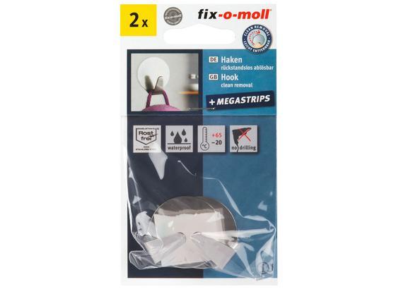 Haken DM: 3,5cm - Edelstahlfarben, Metall (3,5cm) - Suki