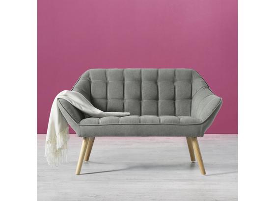 Pohovka Monique - šedá, Moderní, dřevo/textil (127/76/74,5cm) - Mömax modern living
