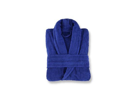 Bademantel Tabea - Blau, ROMANTIK / LANDHAUS, Textil - Luca Bessoni