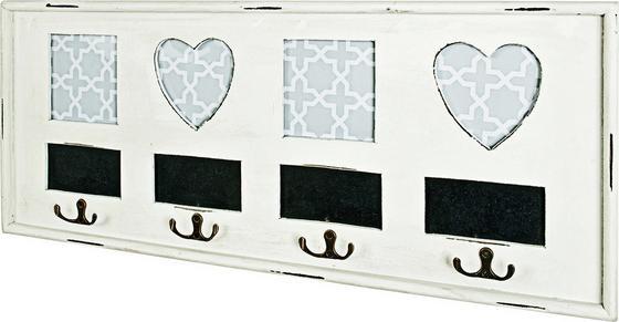 Ruhafogas Emma 4 - fekete/fehér, modern, fa/faanyagok (63/26/3cm)