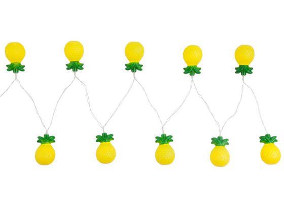 Svetelná Reťaz Birthday - číra/žltá, umelá hmota (195cm)