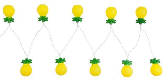 Svetelná Reťaz Birthday - žltá/zelená, umelá hmota (195cm)