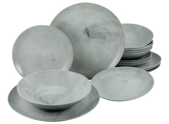 Tafelservice Diwali Marmor 33011 - Basics, Glas (34,5/34,5/16cm)