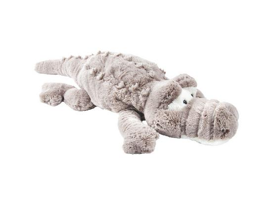 Plyšové Zvieratko Krokodíl - krémová/taupe, textil (85cm) - Mömax modern living