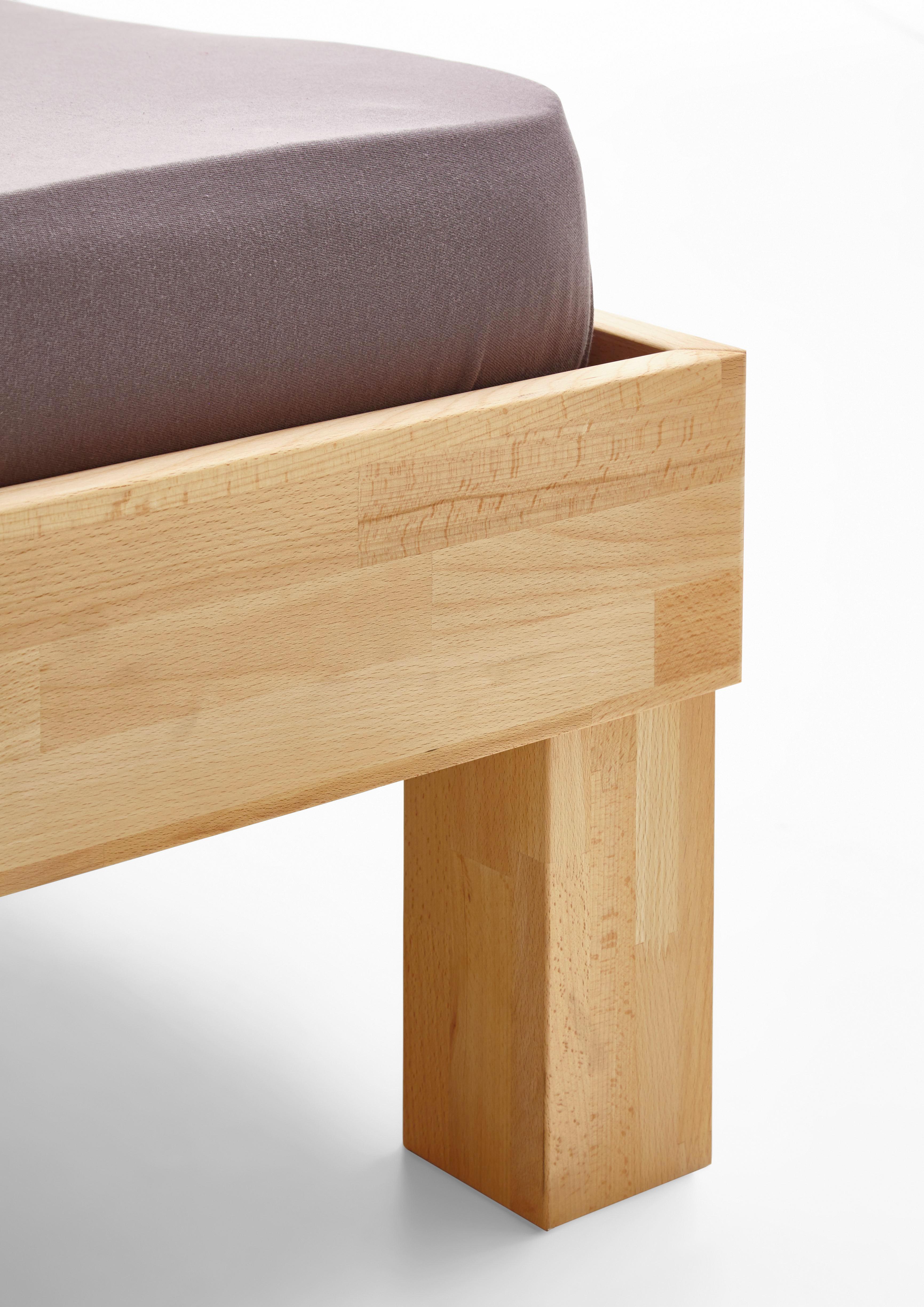 Futonová Postel Elisabeth - barvy buku, Konvenční, dřevo (180/200cm)