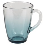 Teeglas Maude - Blau/Grau, Glas (8,9/11,7cm) - Luca Bessoni