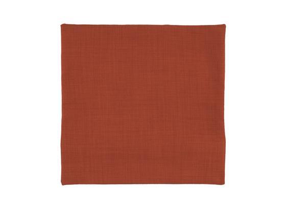 Povlak Na Polštář Vzhľad Ľanu - oranžová, Konvenční, textil (40/40cm) - Mömax modern living