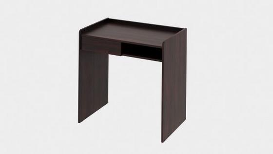 Stůl Bady Choco - tmavě hnědá, Moderní, dřevěný materiál (80/80/50cm)