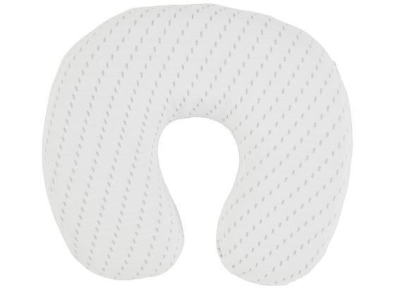 Cestovný Vankúš Visco Deluxe -ext- - biela, textil (33/39cm) - Premium Living
