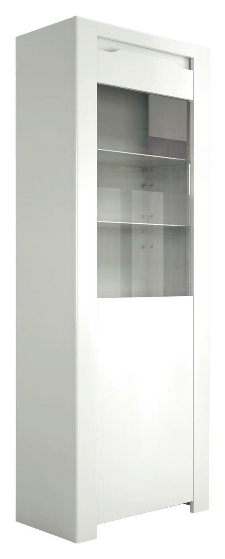Highboard Orlando 68cm Weiss - Weiß, MODERN, Holzwerkstoff (68/180/36cm)