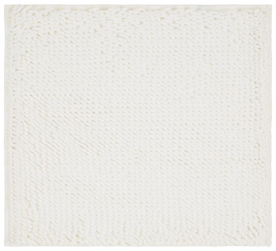 WC-Vorleger Liliane - Weiß, KONVENTIONELL, Textil (45/50cm) - Ombra