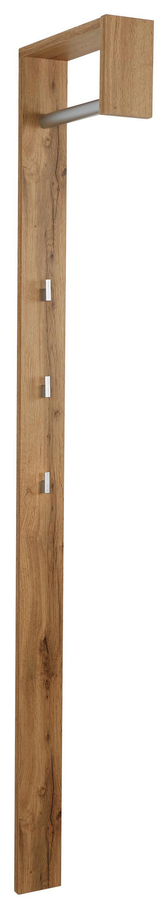 Előszoba Panel Senex - Tölgyfa, modern, Fa (10/170/33cm)