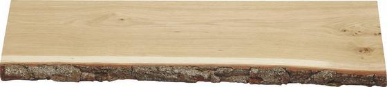 Police Nástěnná Classic Eichenrinde - barvy dubu, dřevo (60/2/23,5cm)