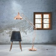 Stojaca Lampa Vita - farby medi, kov (60/38/190cm) - MÖMAX modern living
