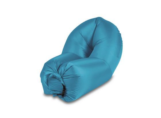 Luftsofa Agneta - Blau, MODERN, Kunststoff (90/180cm) - Luca Bessoni