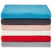 Fleecedecke Tina *ph* - Anthrazit, KONVENTIONELL, Textil (130/160cm) - Ombra