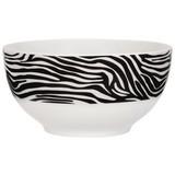 Müslischale Afrika - Schwarz/Weiß, MODERN, Keramik (14cm) - Luca Bessoni