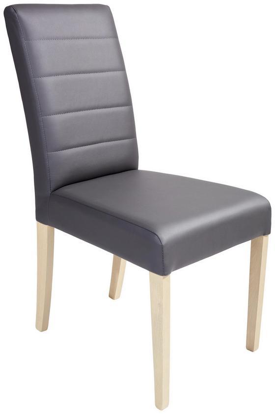 Židle Markus - šedá, Konvenční, dřevo/umělá hmota (43,5/91/56,5cm)