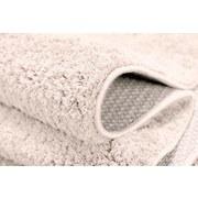 Hochflorteppich Nobel Micro 140 Rund - Creme, MODERN, Textil (140cm)