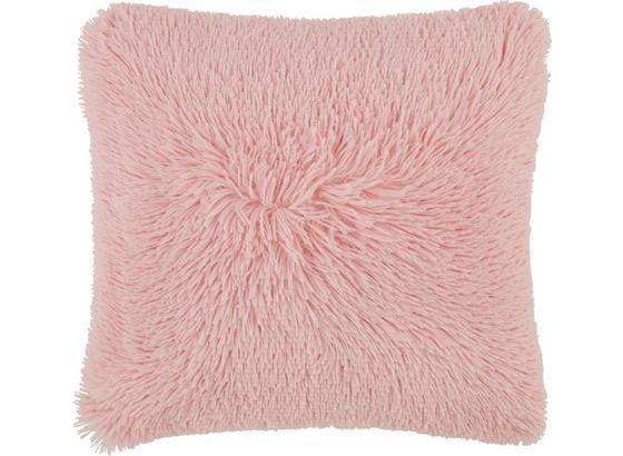 Dekoračný Vankúš Fluffy - ružová, textil (45/45cm) - Mömax modern living