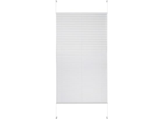 Plisé Free, 90/210cm, Bílá - bílá, textil (90/210cm) - Premium Living
